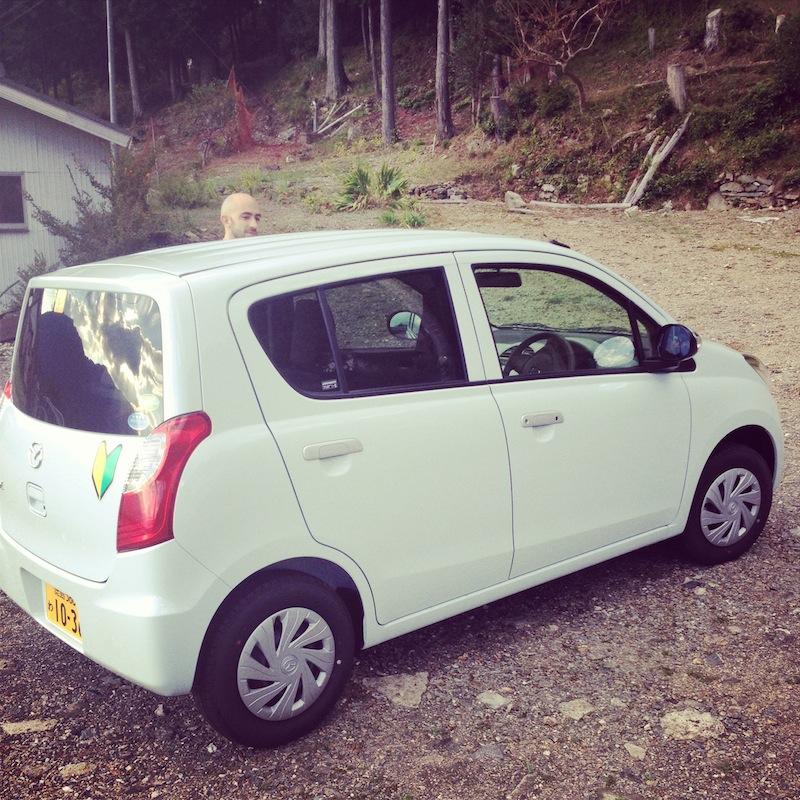 rented car