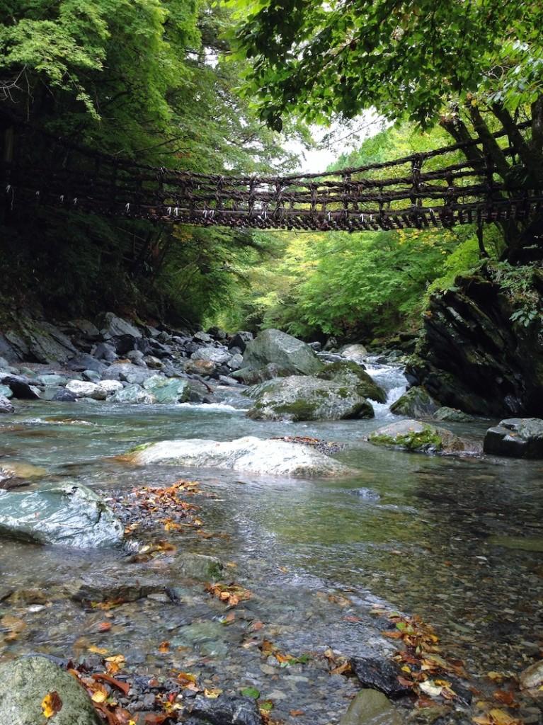 kazurabashi in okuiya